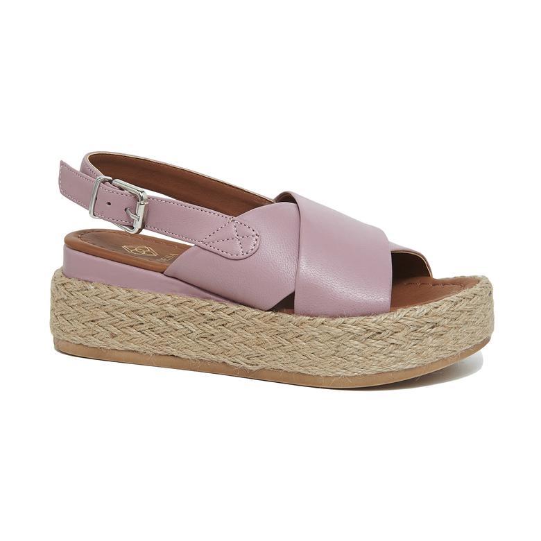 Daliya Kadın Kalın Tabanlı Sandalet 2010046183014
