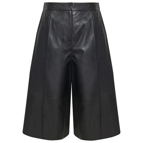 Adele Kadın Deri Bermuda Pantolon 1010030446001
