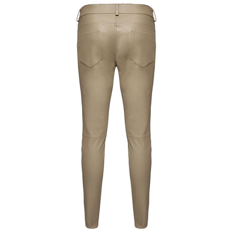 Roisin Kadın Deri Stretch Pantolon 1010028580022