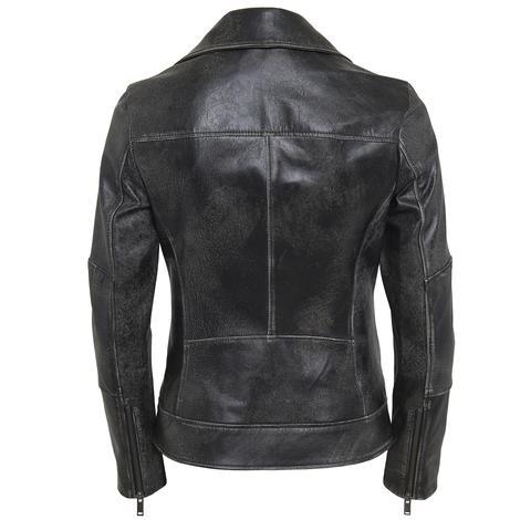 Tazia Kadın Deri Biker Ceket 1010028976010