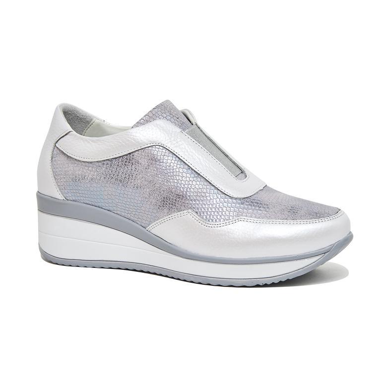 Eriressi Kadın Yüksek Taban Deri Spor Ayakkabı 2010046004008