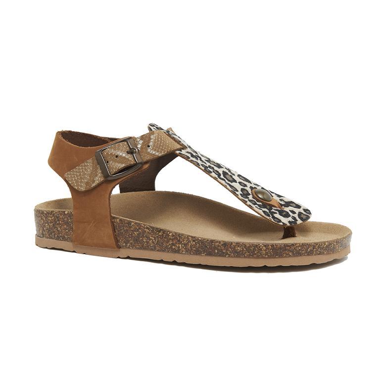 Vaketa Kadın Deri Sandalet 2010046326001