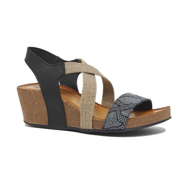 Chiara Kadın Dolgu Topuklu Sandalet 2010046341010