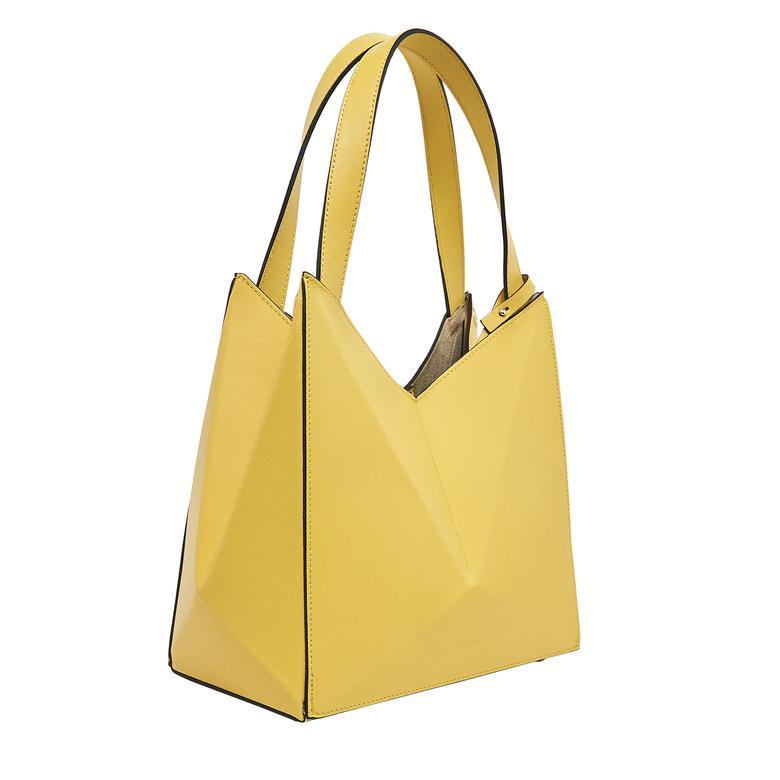 Origami S Kadın Omuz Askılı Deri Çanta 1010030559002