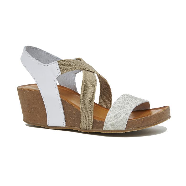 Chiara Kadın Dolgu Topuklu Sandalet 2010046341014