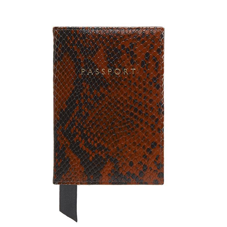 Egzotik Baskılı Deri Pasaportluk 1010030101002