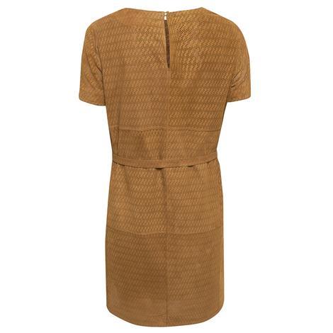 Marsala Kadın Süet Perfore Elbise 1010030376023