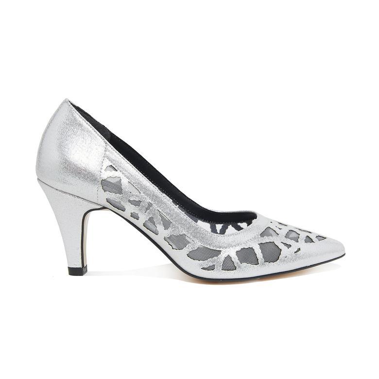 Gümüş Linda Kadın Klasik Ayakkabı 2010046052013
