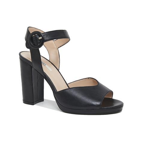 Nydrinia Kadın Deri Topuklu Sandalet 2010046129003