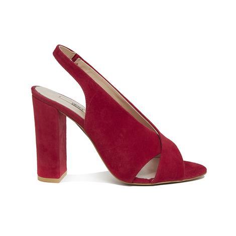 Audin Kadın Süet Topuklu Sandalet 2010046126006