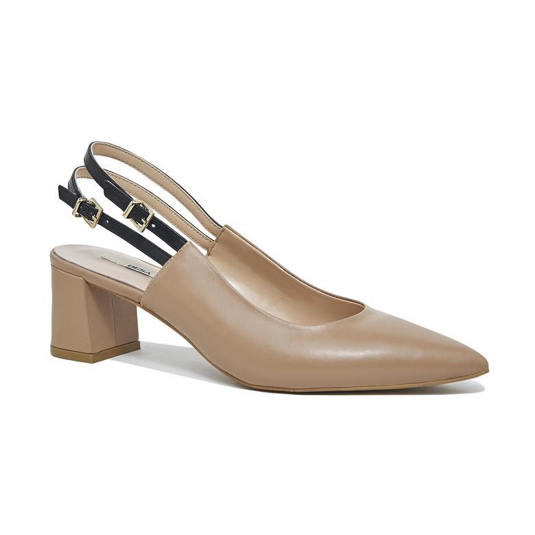 Beringel Kadın Deri Klasik Ayakkabı 2010046141009