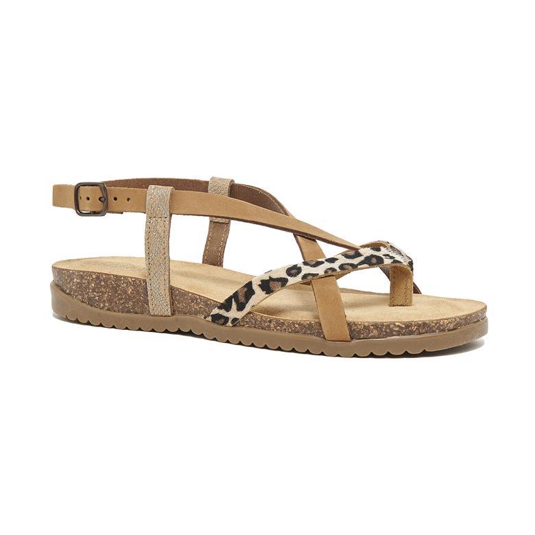 Giula Kadın Deri Sandalet 2010046328001