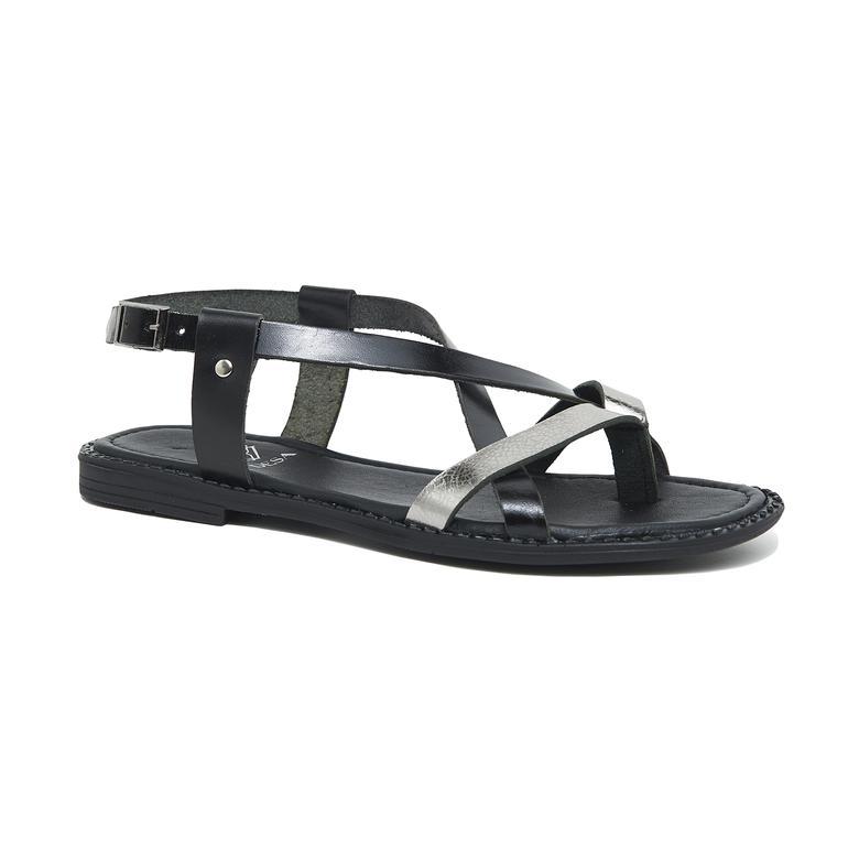 Rossy Kadın Deri Sandalet 2010046179006
