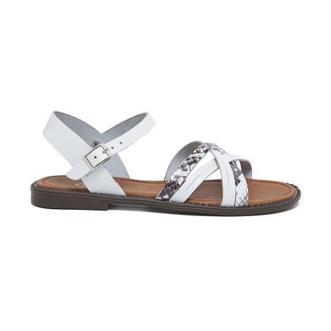 Zerra Kadın Deri Sandalet 2010046174006