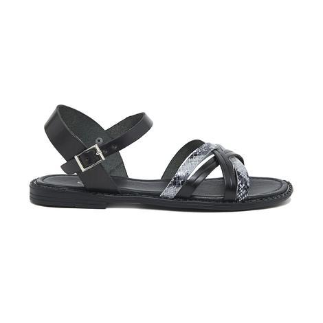 Zerra Kadın Deri Sandalet 2010046174004