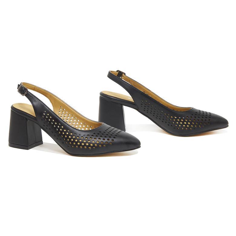 Siyah Blüte Kadın Klasik Ayakkabı 2010046347001