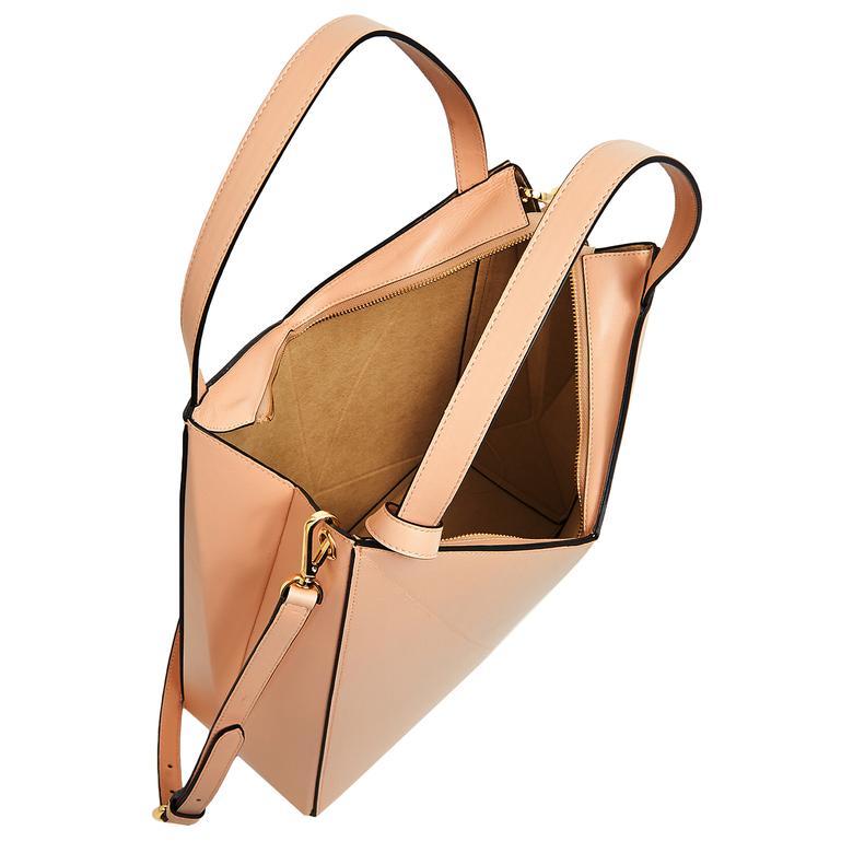 Origami Big Kadın Omuz Askılı Deri Çanta 1010030560002