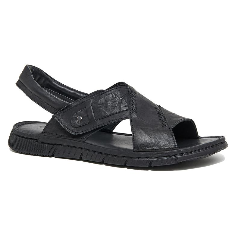 Donzel Erkek Deri Sandalet 2010046163007