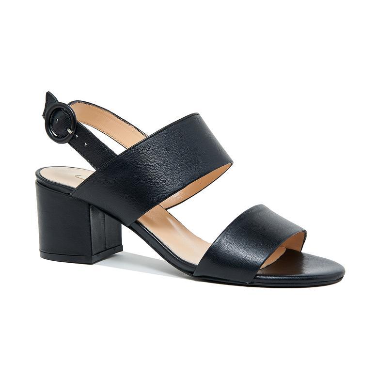 Nithra Kadın Deri Topuklu Sandalet 2010046305001