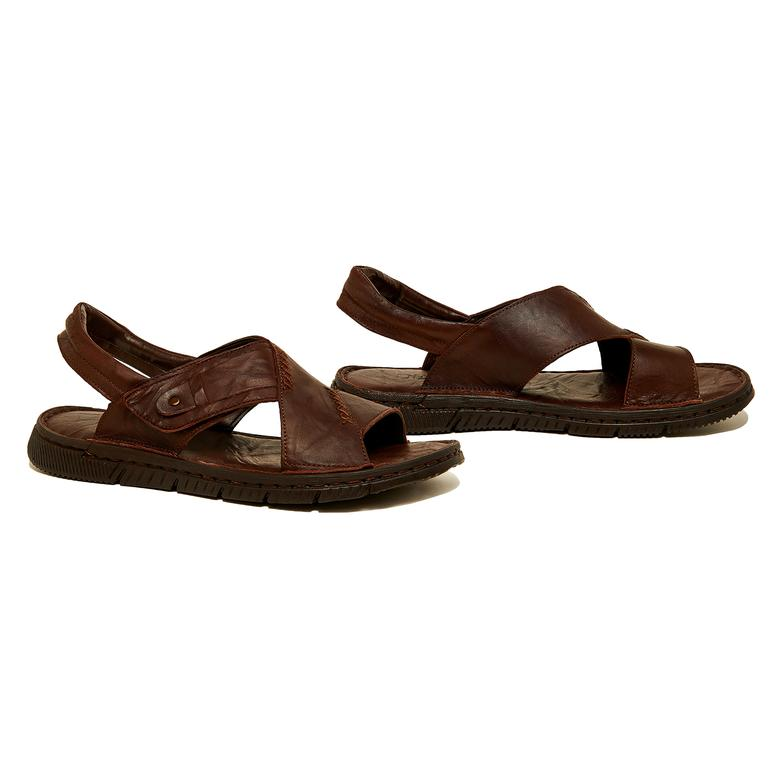 Donzel Erkek Deri Sandalet 2010046163001