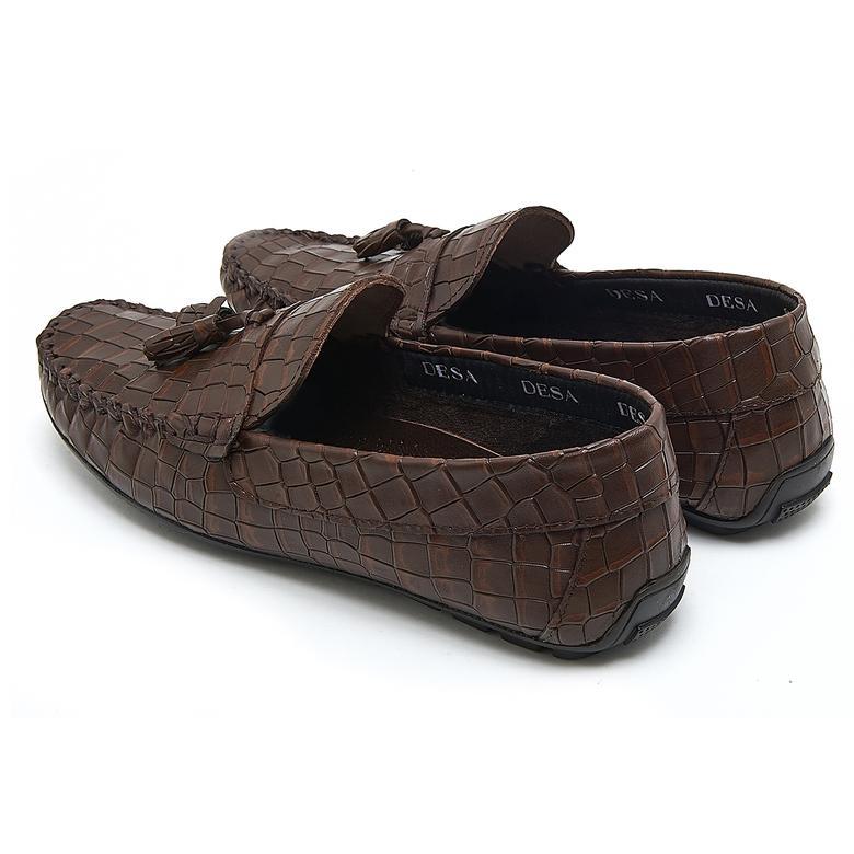 Rubert Erkek Deri Günlük Ayakkabı 2010046213003