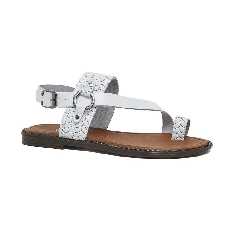 Lena Kadın Deri Sandalet 2010046176013