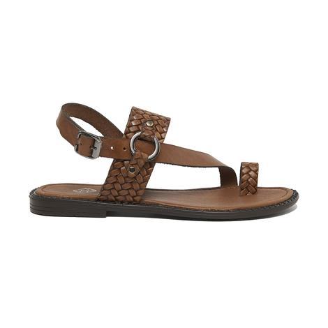 Lena Kadın Deri Sandalet 2010046176017