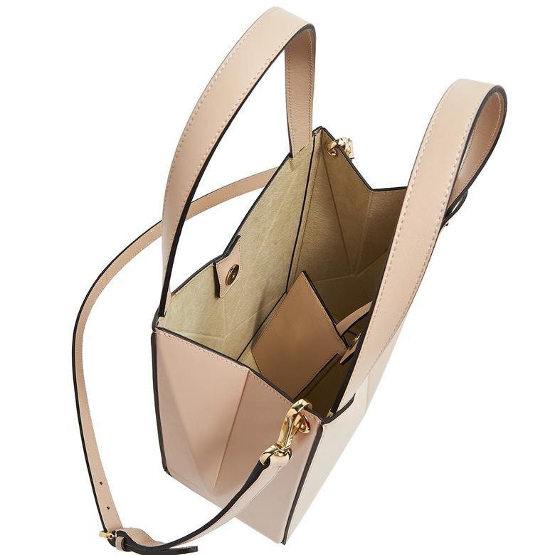 Origami S Kadın Omuz Askılı Deri Çanta 1010030559003