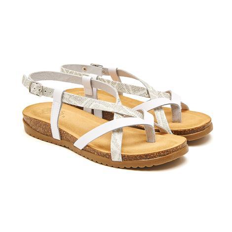 Beyaz Giula Kadın Sandalet 2010046329004