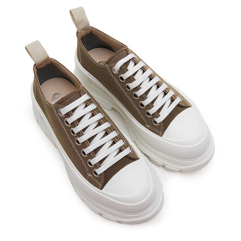 Kalın Tabanlı Kadın Spor Ayakkabı 2010046534005