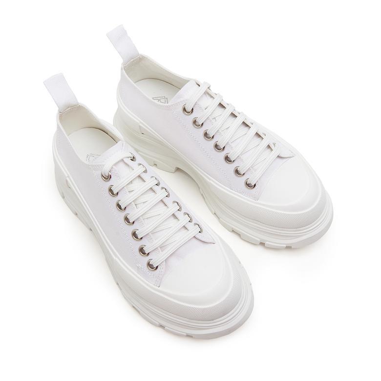 Carletta Kalın Tabanlı Kadın Spor Ayakkabı 2010046534007