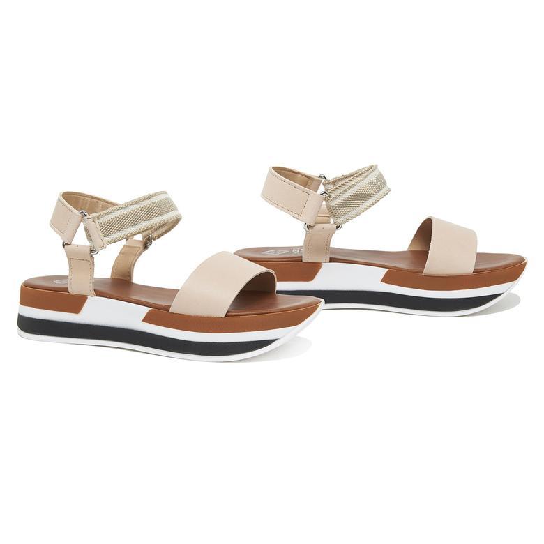 Daze Kadın Deri Sandalet 2010046202015