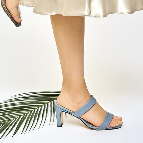Zuma Kadın Topuklu Terlik 2010046530014