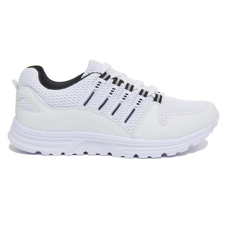 Beyaz Nancy Erkek Spor Ayakkabı 2010046301006
