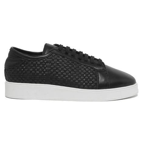 Azurina Kadın Örgülü Deri Spor Ayakkabı 2010046350001