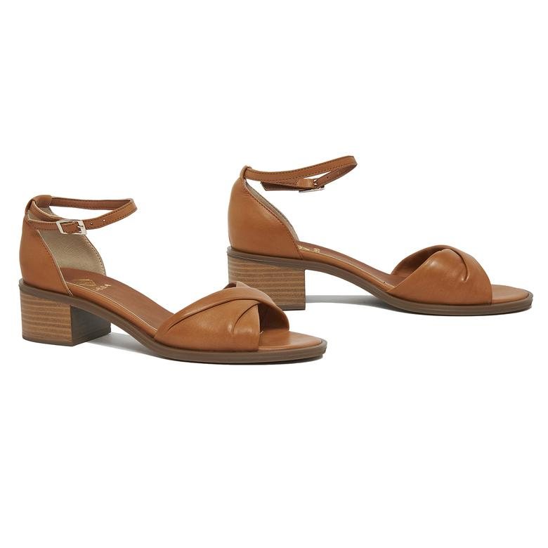 Agrerina Kadın Deri Topuklu Sandalet 2010046185010