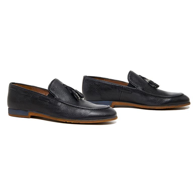 Giergio Erkek Deri Günlük Ayakkabı 2010046264013