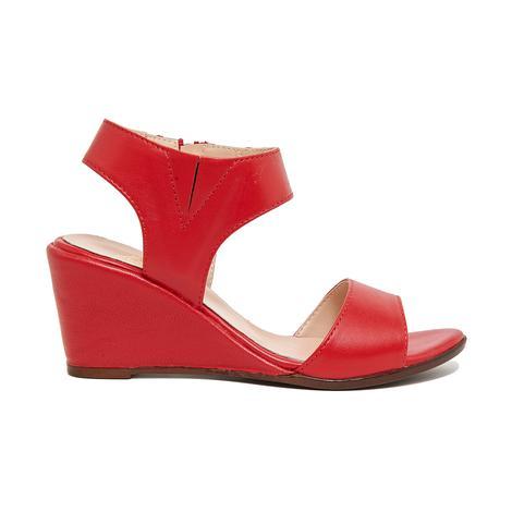 Steven Kadın Deri Dolgu Topuklu Sandalet 2010046313008