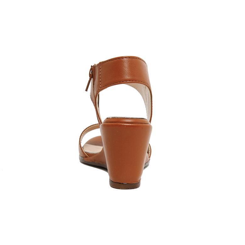Steven Kadın Deri Dolgu Topuklu Sandalet 2010046313018