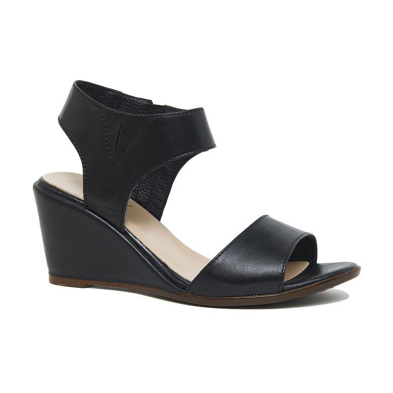 Steven Kadın Deri Dolgu Topuklu Sandalet 2010046313005