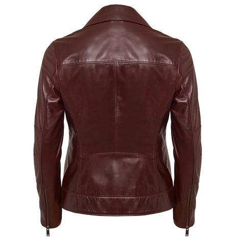 Tazia Kadın Deri Biker Ceket 1010028961008