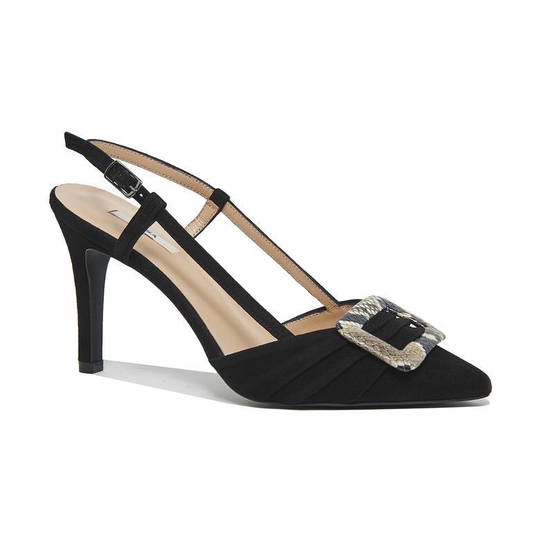 Anabel Kadın Süet Klasik Ayakkabı 2010045967004