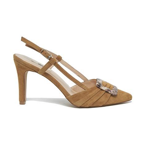 Anabel Kadın Süet Klasik Ayakkabı 2010045967002