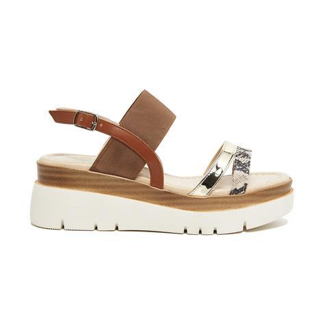 Macy Kadın Kalın Tabanlı Sandalet 2010046071007