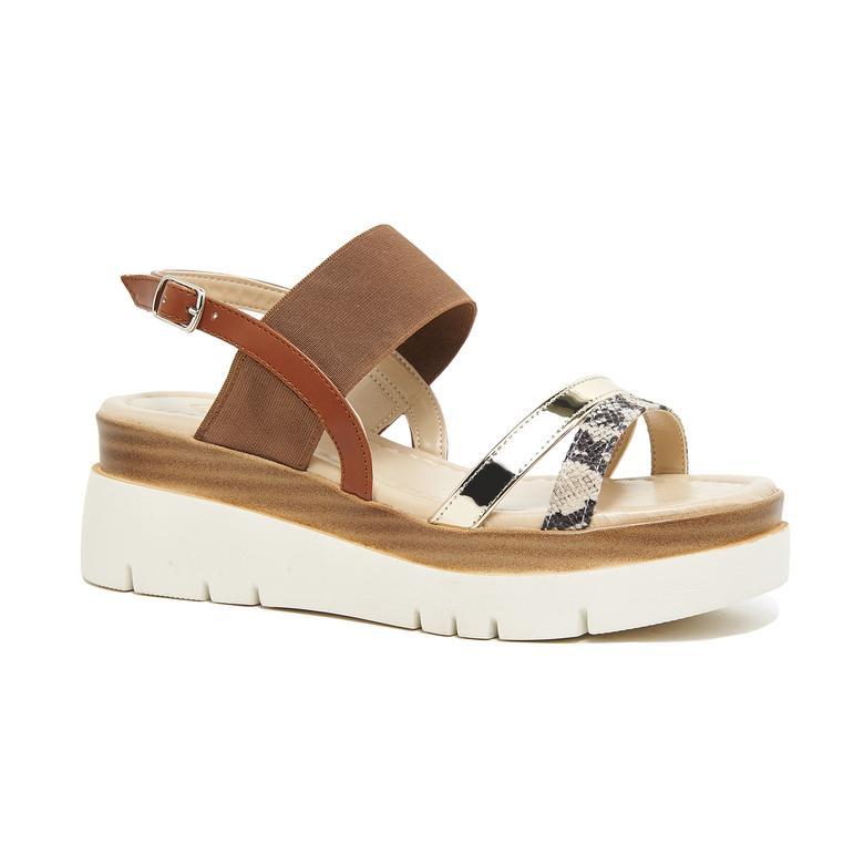 Macy Kadın Kalın Tabanlı Sandalet 2010046071010