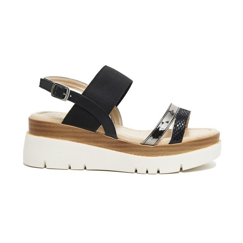Macy Kadın Kalın Tabanlı Sandalet 2010046071004