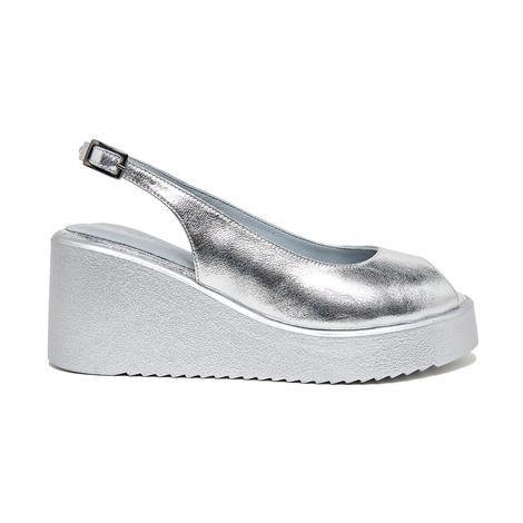 Viva Kadın Deri Dolgu Topuklu Sandalet 2010046525007