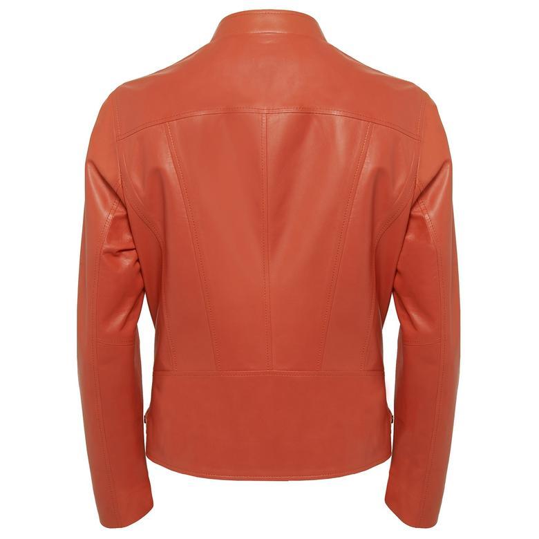 Paride Kadın Deri Ceket 1010030540001