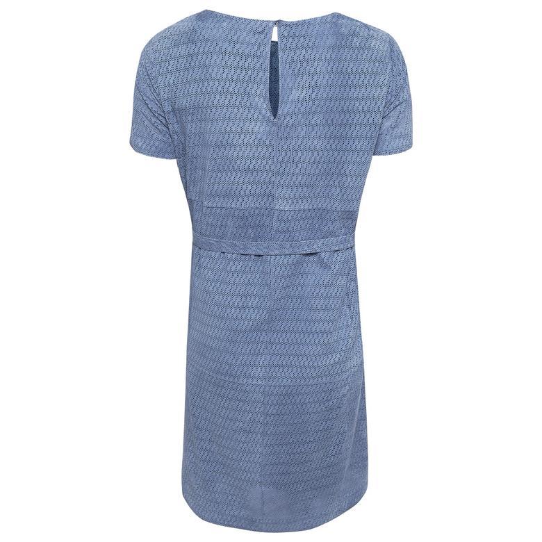 Marsala Kadın Süet Perfore Elbise 1010030376022