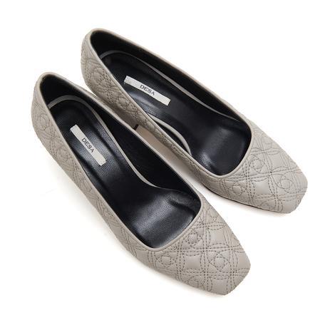 Lena Kadın Kapitone Deri Klasik Ayakkabı 2010046682006